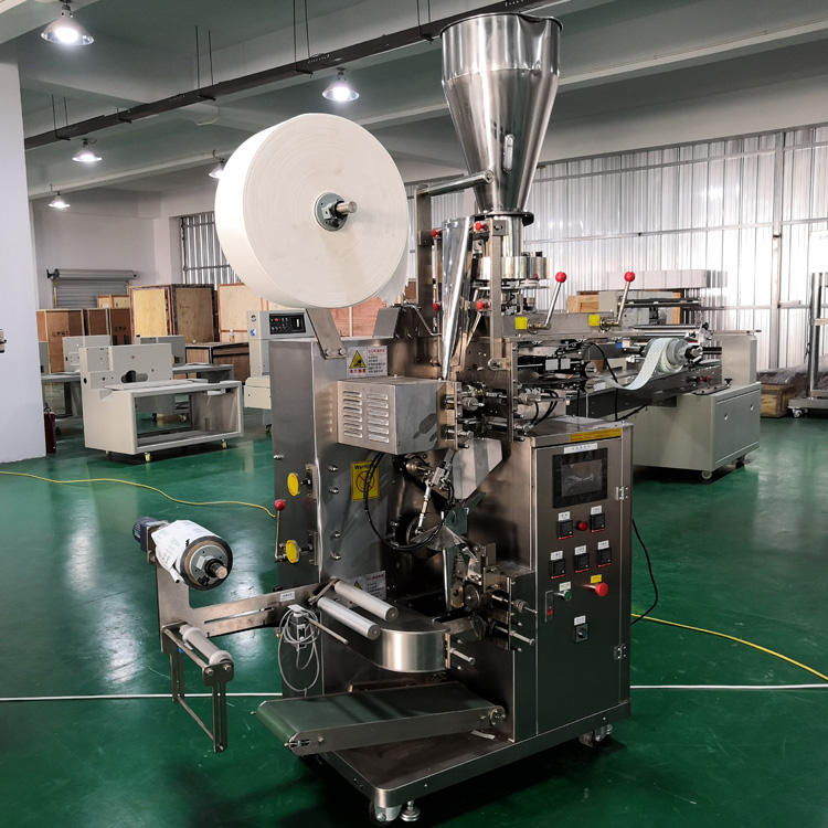 full automatic professional double chamber tea bag packing machine