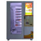 Elevator brownie and hot food vending machine with touch screen