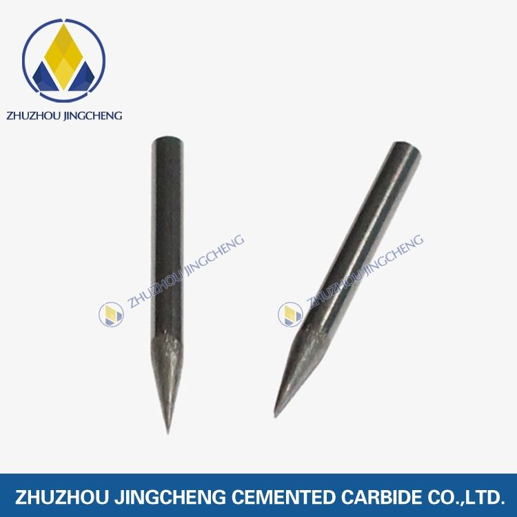 Sharpening electrode tungsten carbide needles