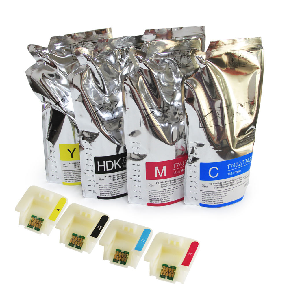 Supercolor Optical Variable Ink Wholesale Sublimation Ink For Epson F6070 printer