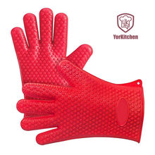 Heat resistant high temperature 275*175mm 135G silicone baking gloves