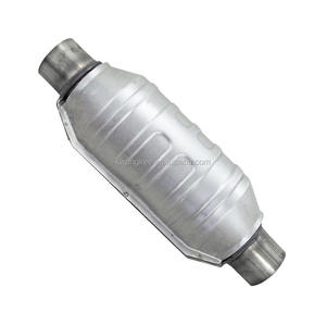 Round Oval Universal Catalytic Converter