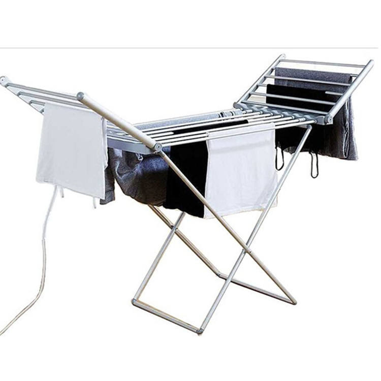 Aluminium Clothes Dryer Indoor Folding Clothes Dryer Specially Designed For Electric Heated Baby Clothes Dryer