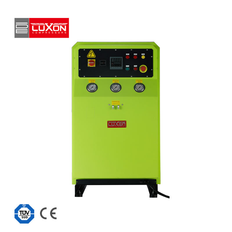 LUXON silent 215/265/300 automatic stop autodrain high pressure 330bar firefighting equipment breath air compressor