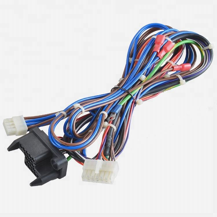 Car stereo wiring harness audio video cables wire