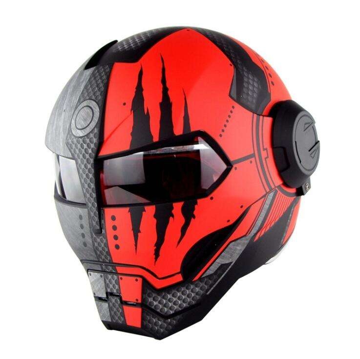 SkeletonHelmet para Iron motocicleta motorcycle for men cross cascos para motorcycle helmet