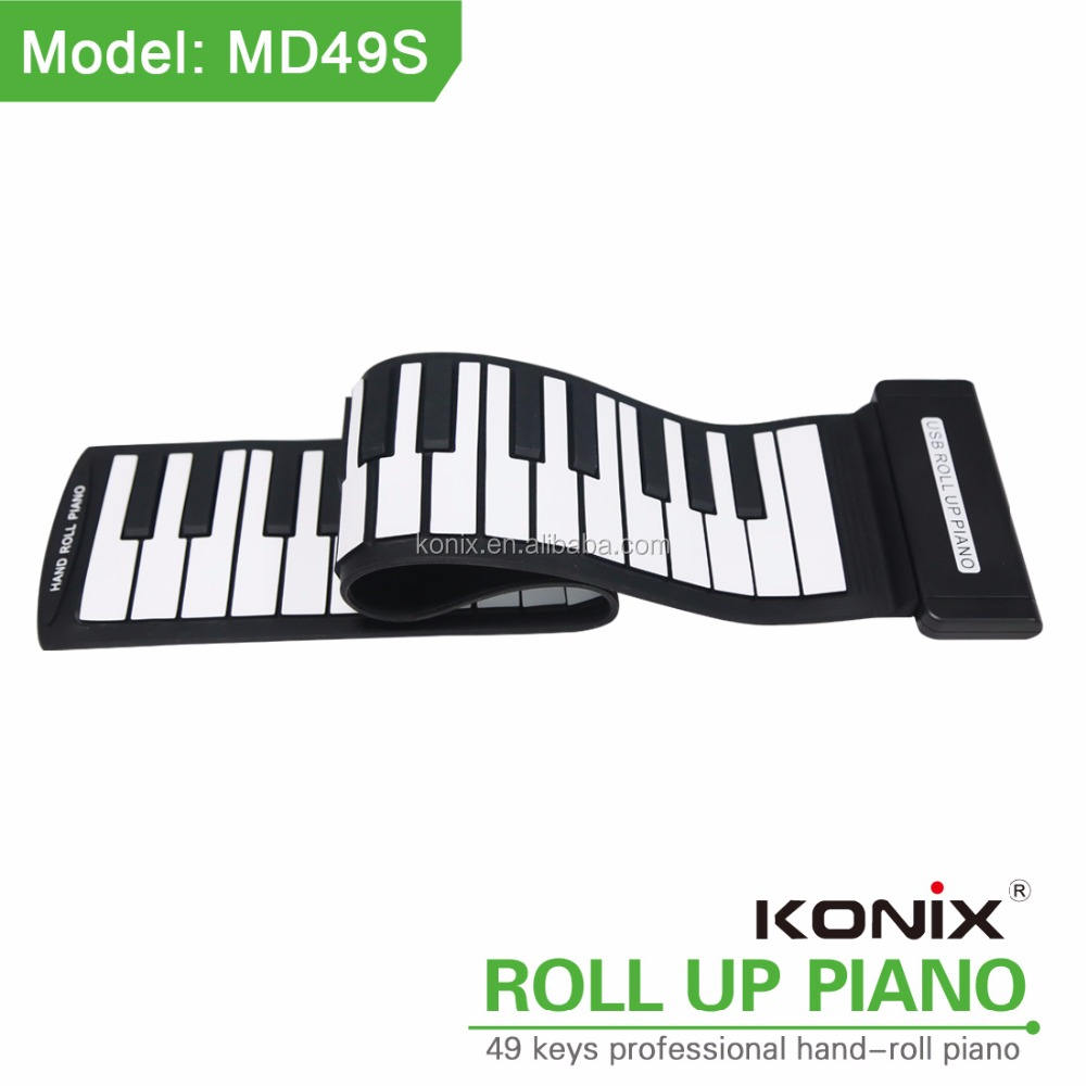 Dom kawai de piano flexível roll up piano roll up pianos para venda