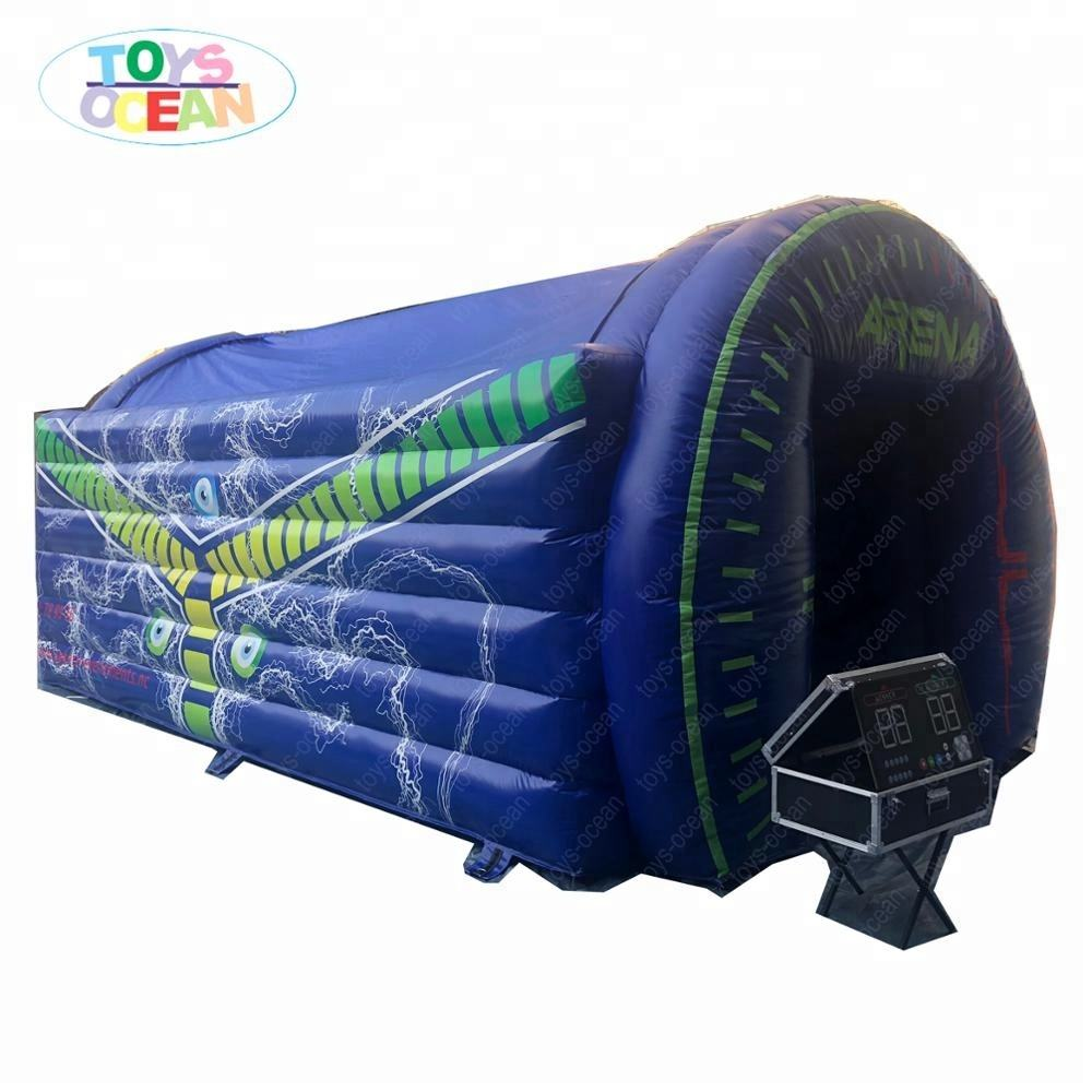 lighting inflatable IPS arena interactive play system jumping bouncy castle tent
