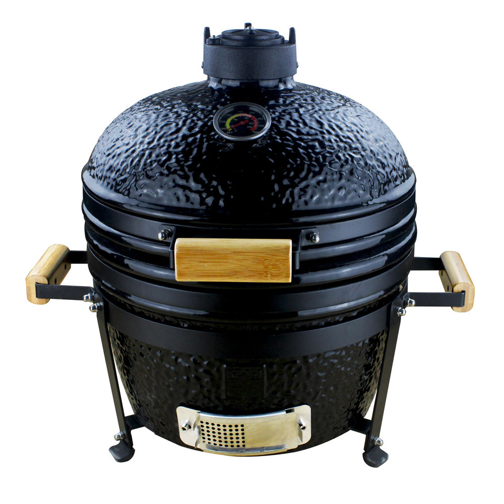 Outdoor Cooking Kamado Style Ceramic Garden Fire Pit