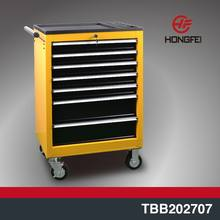 Plastic top workstation tool box roller cabinet on wheels