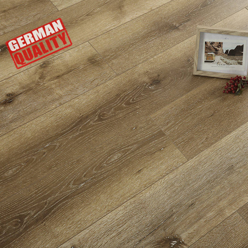 distressed hardwood print logo laminate wood flooring