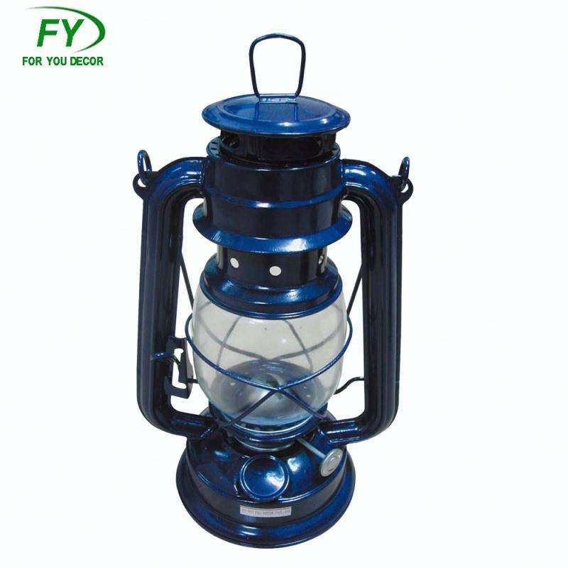 camping outdoor hurricane lantern garden decorative oil lamp