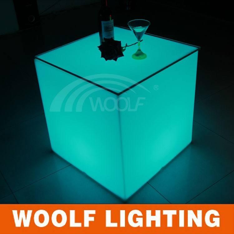 Leuchten Led Würfel Tische Und Stühlebeleuchtete Außen Led