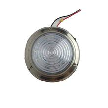 UnionTech red and white round led dome light