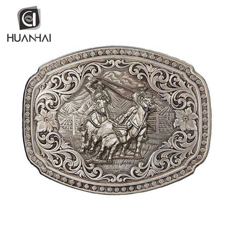 sterling silver custom name blank aluminium metal side release 3 inch belt buckle parts