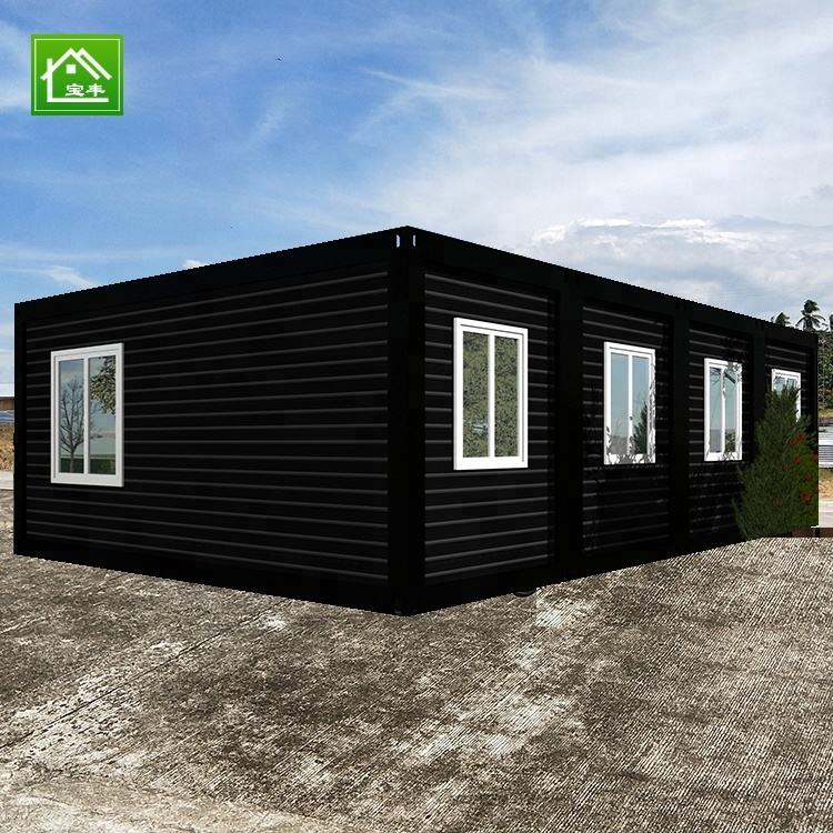 보풍 Container Steel 집 conteneur 거주 할 수있는 container housing unit