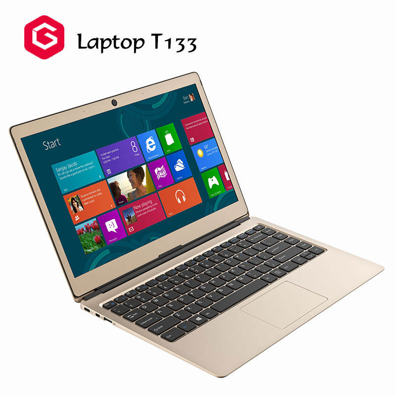 Groß kauf billig notebook laptop Quad-core 2,0 GHz 13,3 zoll laptop