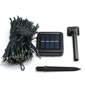 Hoge Kwaliteit Solar Powered Operated Led String Lights Garden Decoratieve Kerstvakantie Led Licht