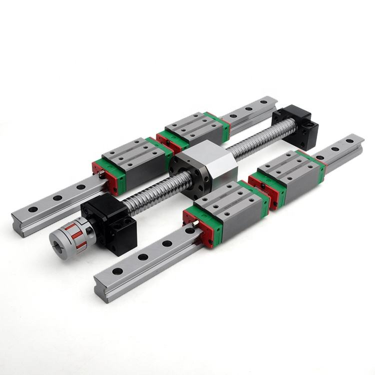100% Original Taiwan HIWIN Bearing Rail Guideway Precision Machine Linear Guide
