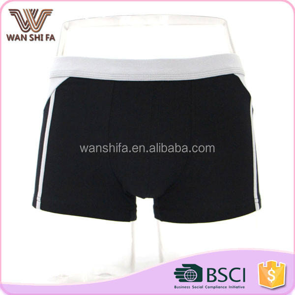Eko- dostu moda özel rahat klasik boxer erkek iç çamaşırı kullanılan
