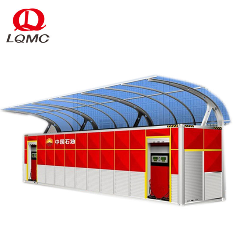 20ft and 40ft ISO container mobile fuel petrol filling station