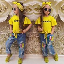 Fashion 2021 New Design High Quality Fashion Girls Boutique Clothing 2 pcs kids clothing wholesale / baby wear clothes