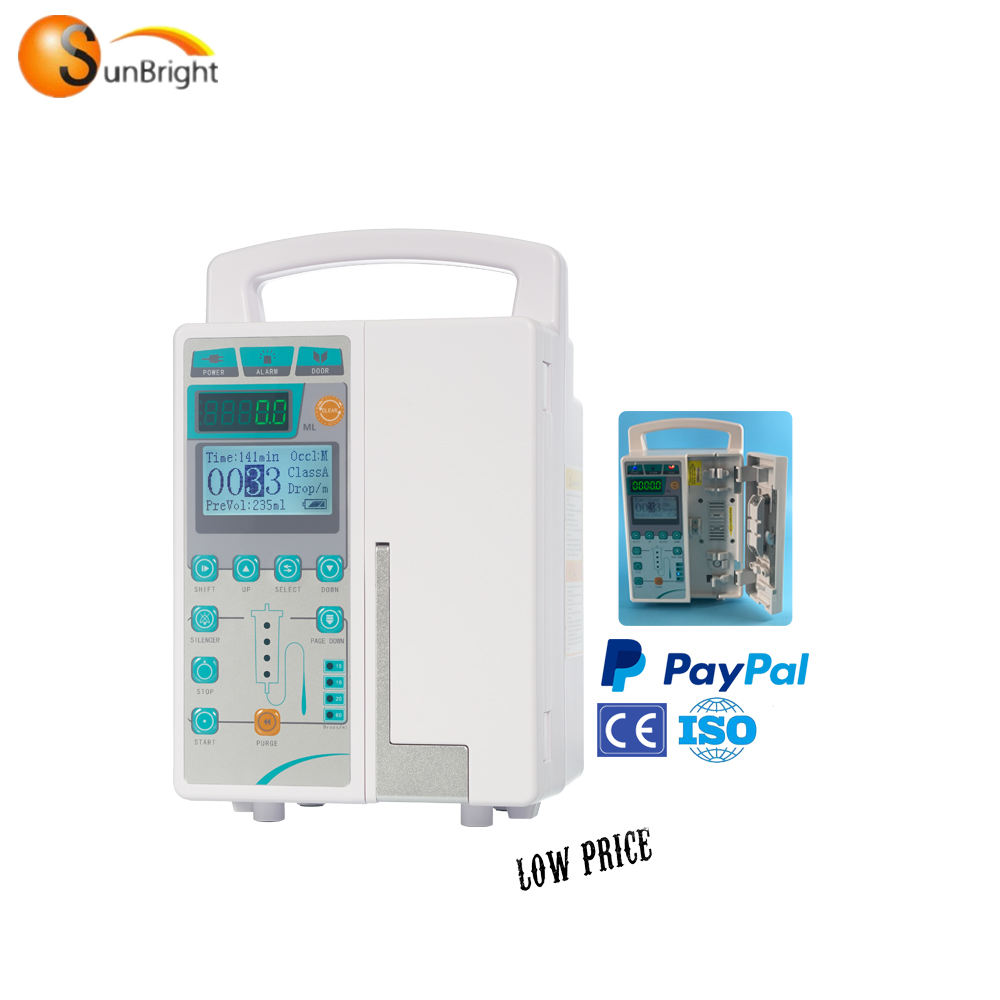 LCD Display volume Automatic Infusion Pump manufacturer in ICU