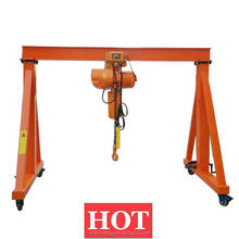 Construction Small Mini Mobile 1 2 3 4 5 ton Gantry Lifting Tools and Equipment for Granite and Marble