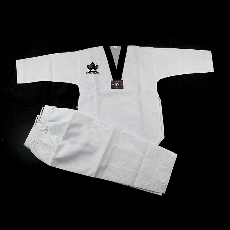 Martial arts wear 100% cotton uniforme de taekwondo dobok