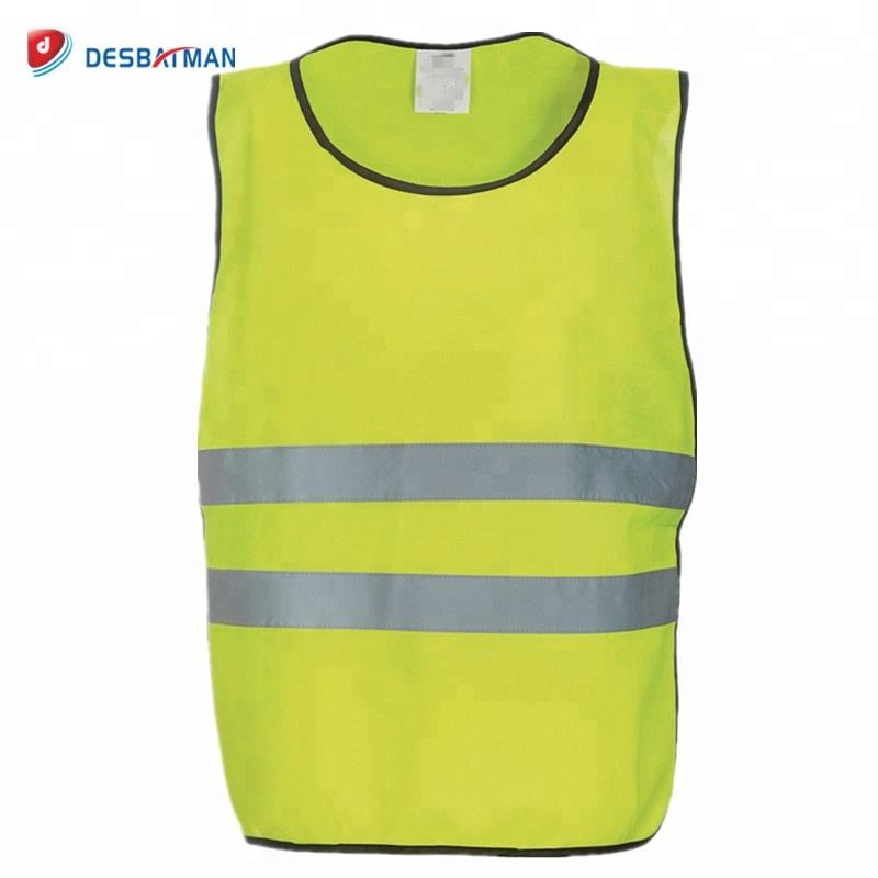 Hi-Viz Tabbard Adjustable Adult XL Yellow with reflective stripes Waistcoat