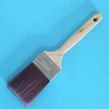 Australian Style Paint Brush 63mm Wooden Handle Synthetic Paint Brushes
