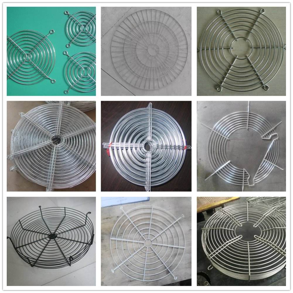 150mm Iron Net Fan Cover CPU Fan Grill Computer Cooling Fan 150x150mm T2