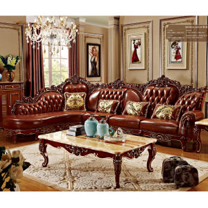 Wholesale fancy living room furniture sofa set