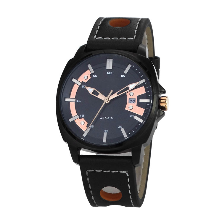 방수 50 메터 물 저항하는 fashion watch custom logo casual men watch