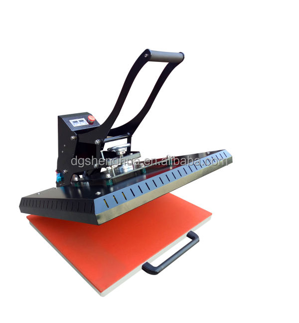 80x100 chamshell heat press for printing business
