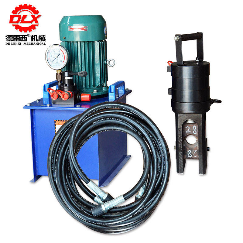 Steel sleeve cold extrusion machine GB motor 4KW Dresi machinery factory direct sales