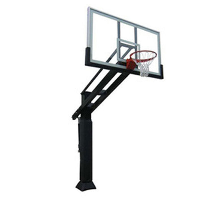Cheap hot sale height adjustable inground basketball stand basketball hoop