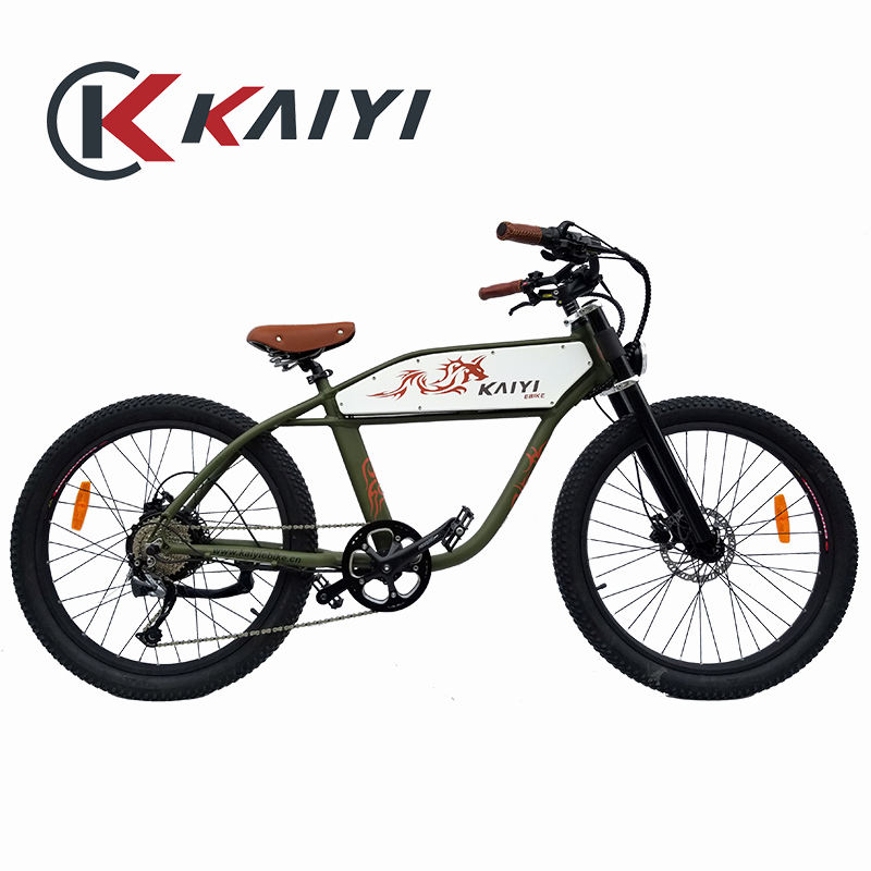 KAIYI China Vintage ebike 36 48V volt lithium ion battery for electric bicycle