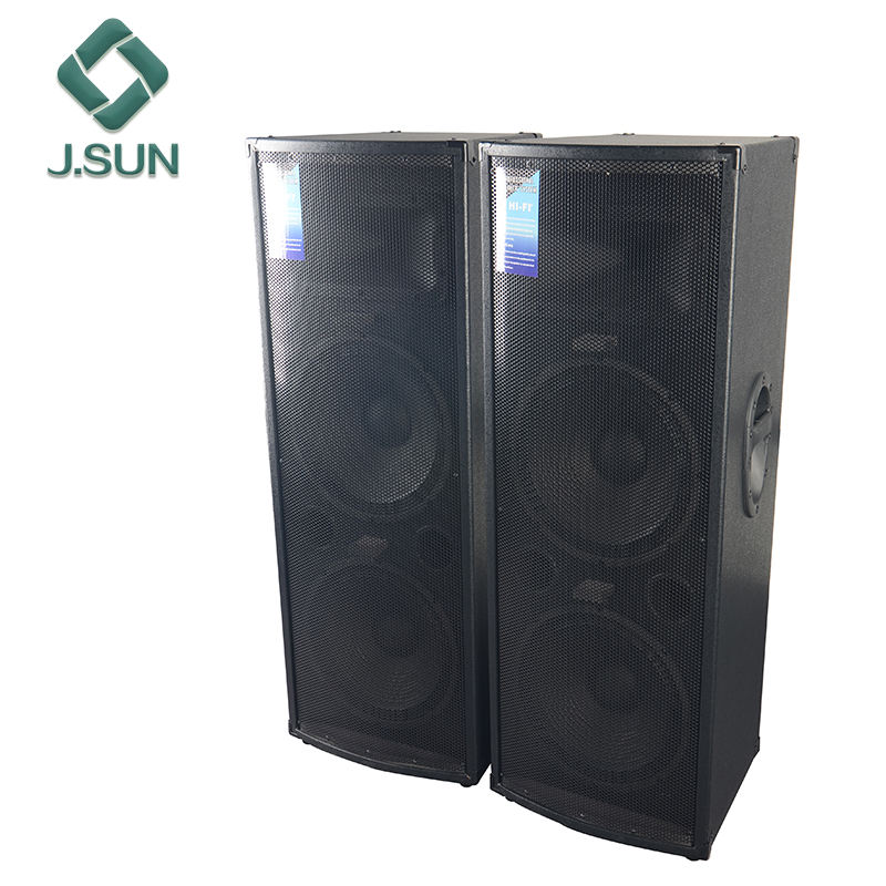 4*12 inch subwoofer DJ Bass Speaker Passive Big Stage Speaker pair box