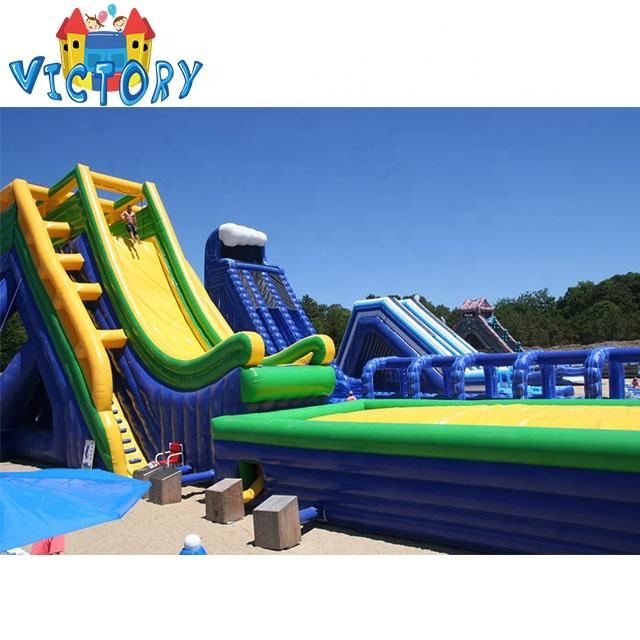 Hot Selling Inflatable Water Paly Equipment,Inflatable Water Slide For Water Park