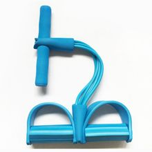 step spring equipment pull up pedal exerciser with handle resistance band