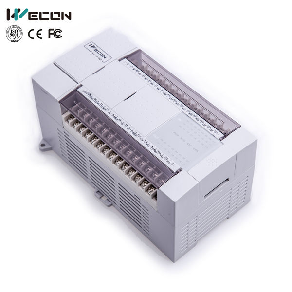 Wecon 40 I/O efficient plc programmer for temp controller with plc training plc automation control panel