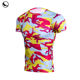 sublimation long sleeve mens compression shirt
