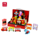 Foldable children pretend theatre play box wooden circus show toy for kids 3+