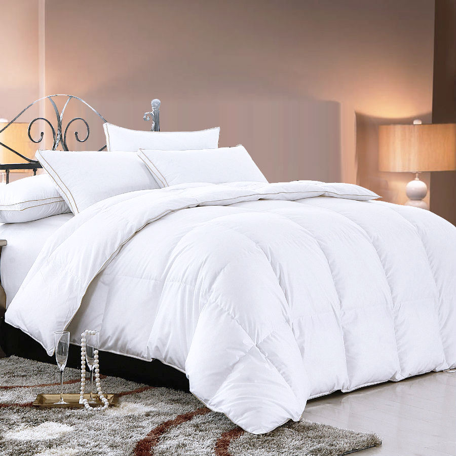 Top Sale Custom Season Nature Washed Soft White Duck Down Comforter