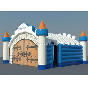 Unique design inflatable castle style tent, inflatable tent for party or event K5081