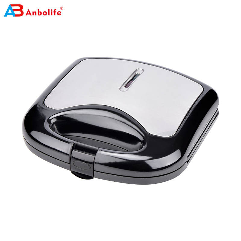 Hot Sell Sandwich Maker Personalized Mini Waffle Maker2 slice sandwich maker with fixed plate