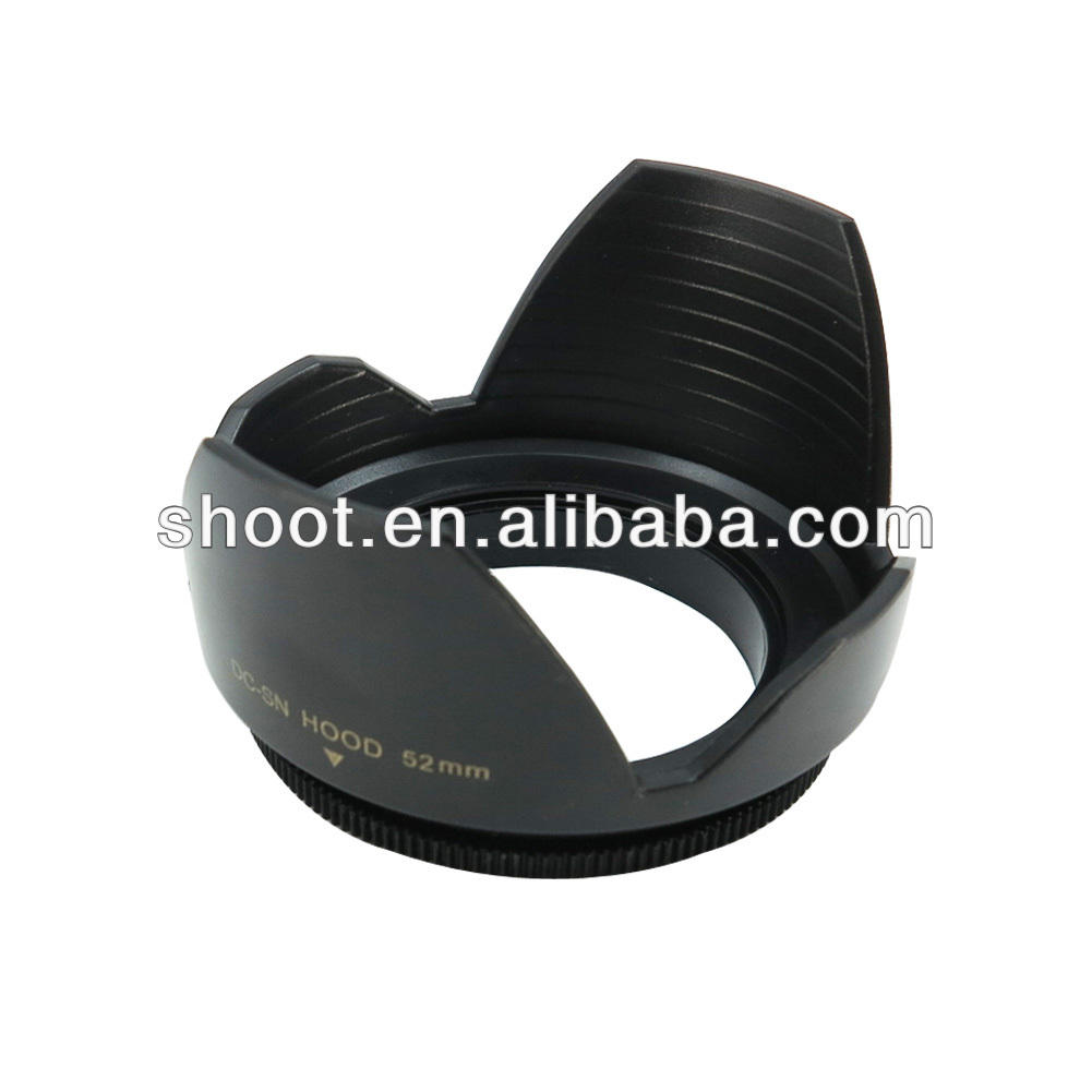 Digital slr camera lens hood 52mm for CANON EF 50MM F/1.8 II Nikon D3100 D60 D5000 D3000 D40 D40