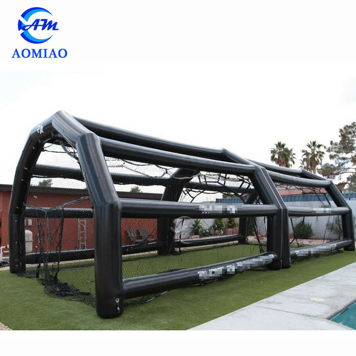 High quality PVC inflatable baseball sport game bouncer inflatable batting cage field