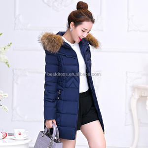 New Winter Coat Women Thicken Warm Faux Fur Hooded